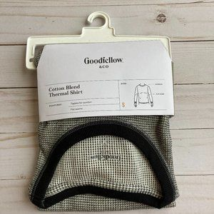 Goodfellow Cotton Blended Thermal Shirt Sz S NWT